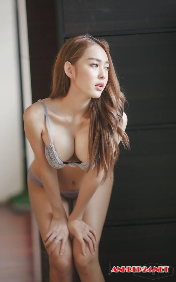 Vẻ đẹp mơn mởn của người mẫu bra Tharinton Donmuensri - Hình 15