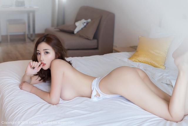 Tan chảy trước vẻ đẹp gợi cảm của cô nàng hot girl Sun Meng Yao - Hình 4