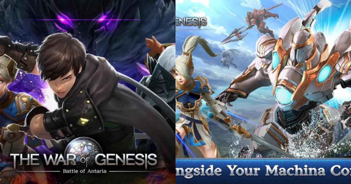 The War of Genesis siêu phẩm MMORPG chính thức mở cửa trên