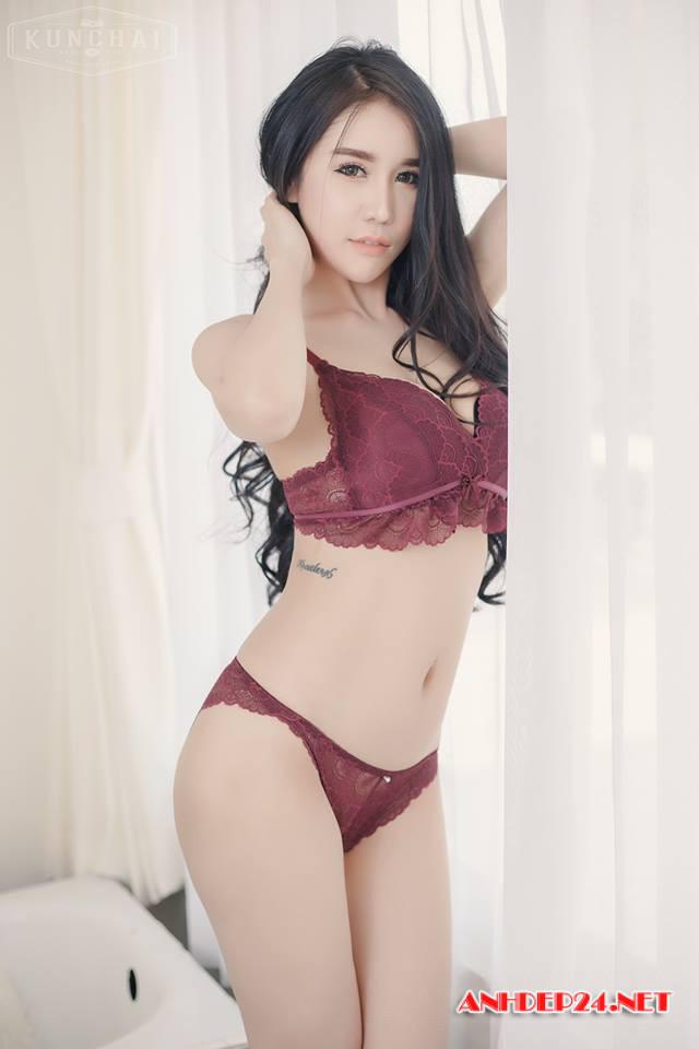 Prapatsara Kongpanus : Nữ thần bikini Thái Lan - Hình 2