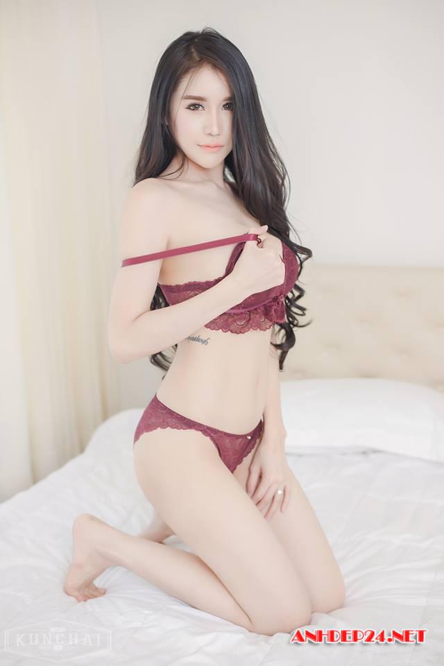 Prapatsara Kongpanus : Nữ thần bikini Thái Lan - Hình 5