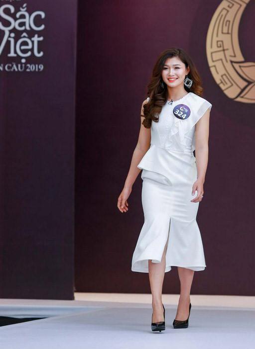 Nhan sắc vận động viên đua thuyền 9X dự thi Hoa hậu Bản sắc Việt 2019 - Hình 4