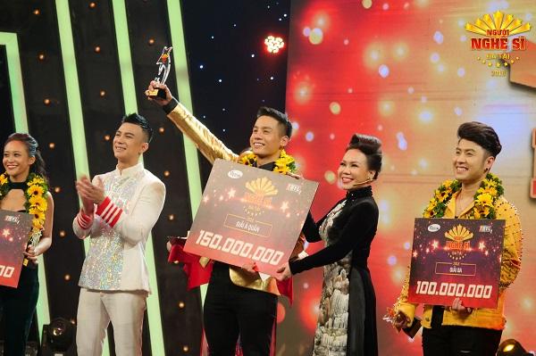 Nam vương Cao Xuân Tài đạt giải Á quân Người nghệ sỹ đa tài 2018 - Hình 1