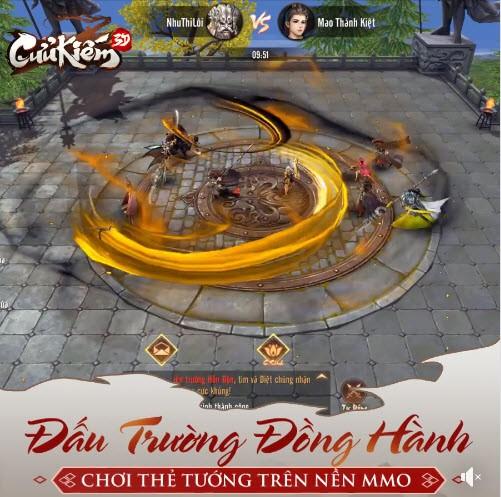 Đấu Trường Đồng Hành: Hoạt động chơi thẻ tướng trên nền nhập vai độc nhất vô nhị chỉ có trong bom tấn Cửu Kiếm 3D - Hình 2