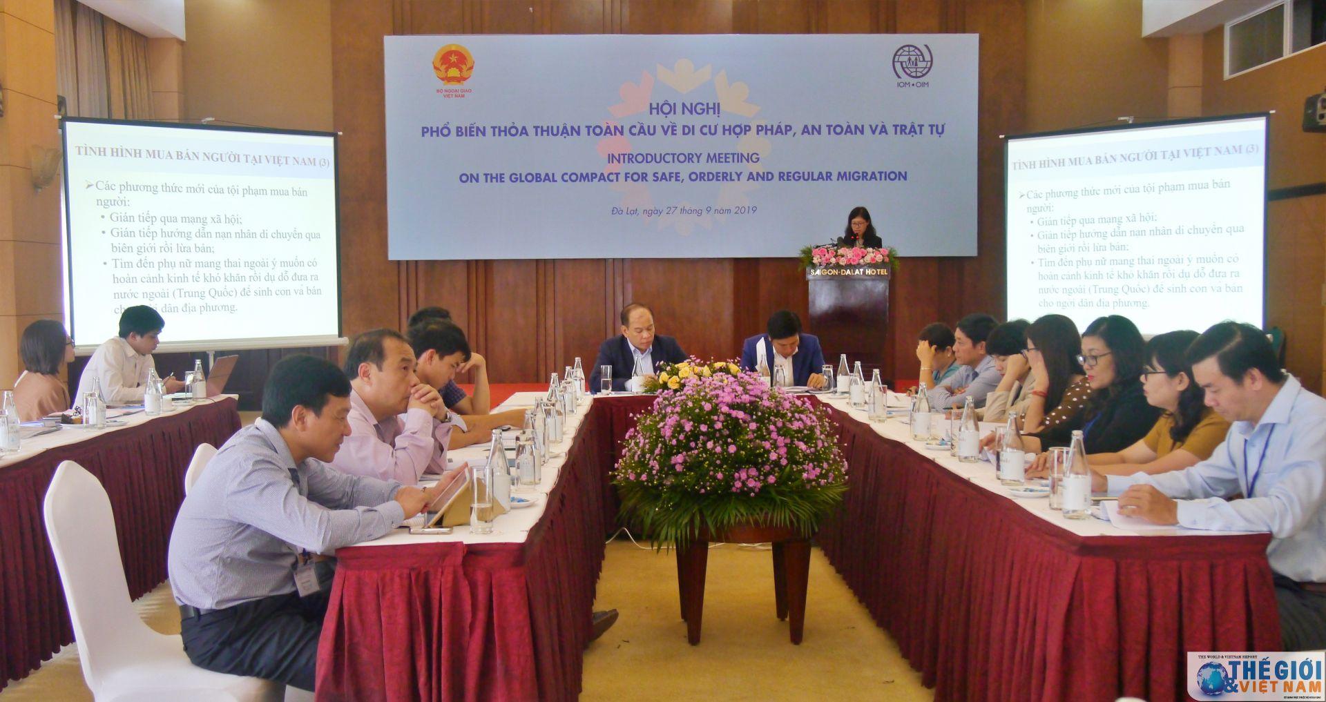 Hội nghị phổ biến Thỏa thuận toàn cầu về Di cư hợp pháp, an toàn và trật tự tại TP. Hồ Chí Minh - Hình 1