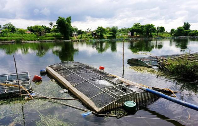 Người đàn ông bị điện giật tử vong ở lồng cá trên sông - Hình 1