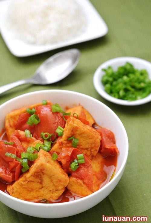 Nhẹ nhàng giản dị với món đậu phụ sốt cà chua ngon cơm, dễ làm ! - Hình 1