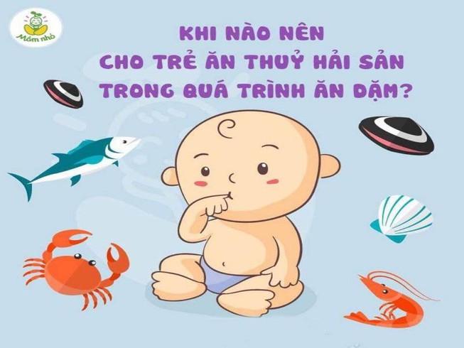 Những hiểu lầm thường gặp khi cho trẻ ăn hải sản - Hình 1