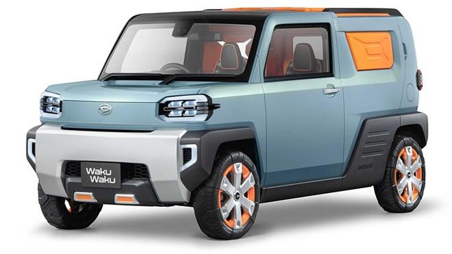SUV Nhật siêu thực dụng với, thiết kế như viên gạch - Hình 1