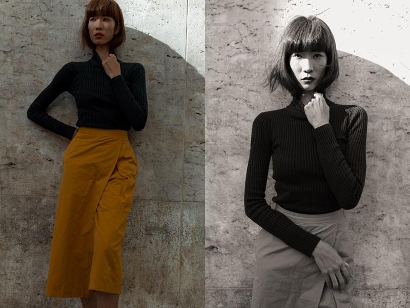 Trang Phạm mặc thiết kế của NTK Việt, biến chợ đồ cũ ở Paris thành điểm check-in sành điệu - Hình 1