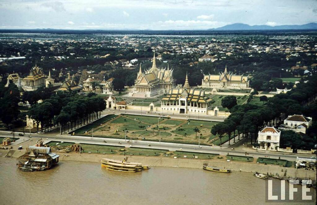 Campuchia trước 1975 qua ảnh màu tuyệt đẹp của tạp chí Life - Hình 1