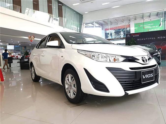 Bảng giá xe Toyota Vios 2019: Giá lăn bánh & khuyến mãi - Hình 5