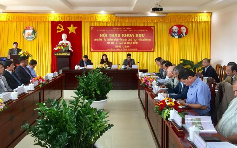 Học và làm theo phương pháp dân vận Hồ Chí Minh - Hình 2