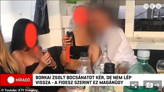 Lộ video tiệc truy hoan của quan chức Hungary - Hình 1