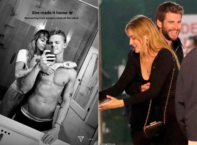 Miley Cyrus tỏ ra bình thản sau tin chồng cũ có tình mới - Hình 2
