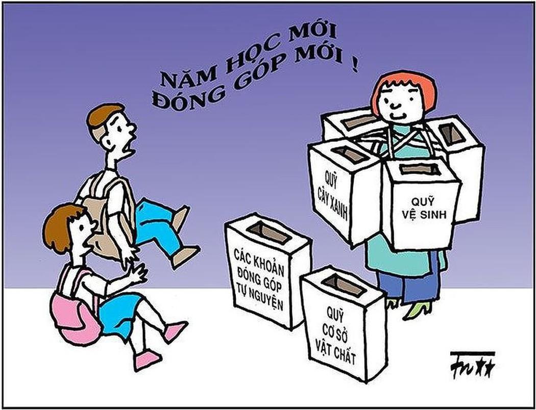 Nghịch lý từ các khoản đóng góp ở nhà trường - Hình 1