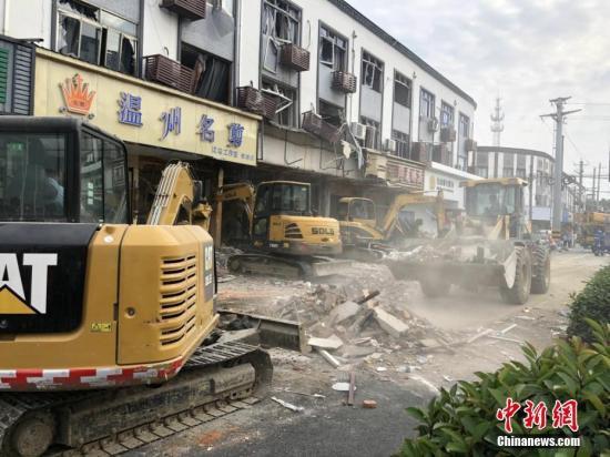Nổ khí gas tại nhà hàng Trung Quốc làm 9 người chết - Hình 1
