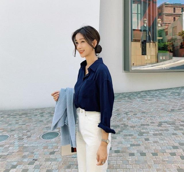 Điểm danh 5 kiểu áo sơ mi đang chiếm sóng Thu Đông 2019 - Hình 3