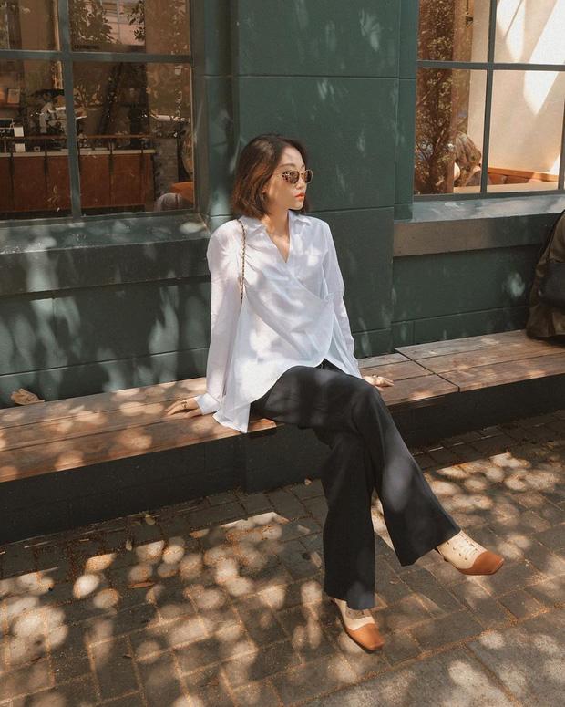 5 mẫu áo sơ mi đang chiếm sóng Thu 2019, mau tậu gấp để nâng level phong cách thôi các nàng công sở! - Hình 3