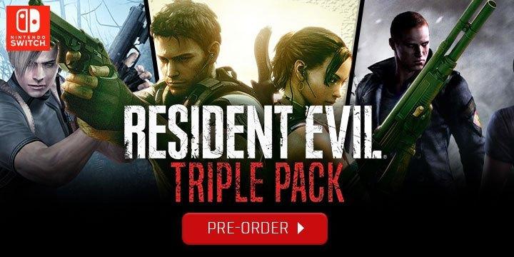 Chi tiết Resident Evil Triple Pack - Hình 1