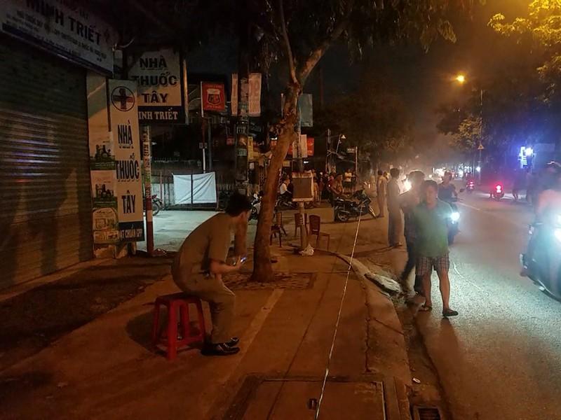 Hỗn chiến sau va quẹt, 2 người thương vong ở Bình Tân - Hình 1