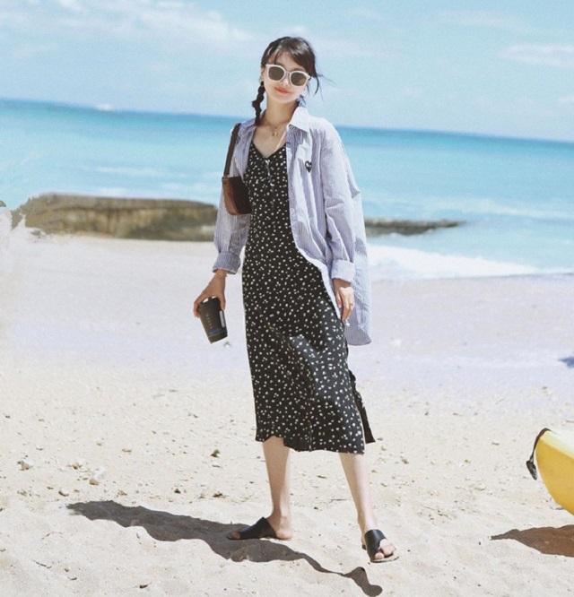 4 kiểu váy giúp nàng tỏa sáng hơn nắng thu - Hình 2
