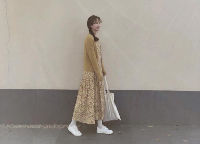 4 kiểu váy giúp nàng tỏa sáng hơn nắng thu - Hình 6
