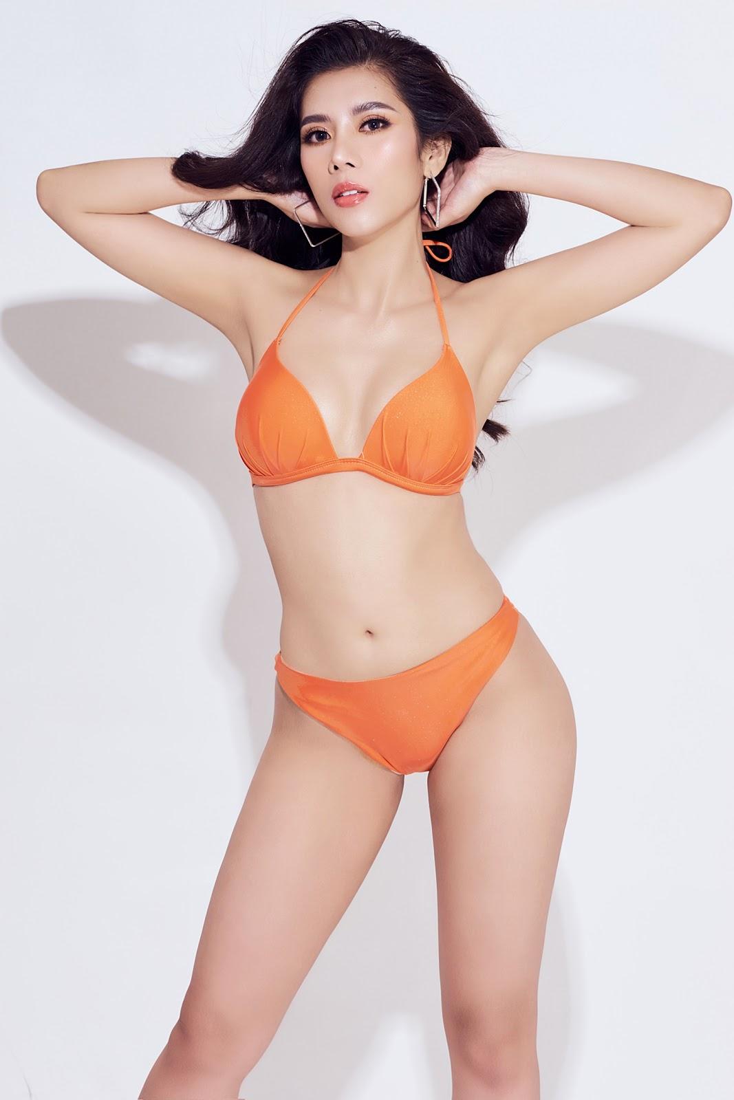 Dương Yến Nhung khoe trọn 3 vòng gợi cảm trong trang phục bikini - Hình 6