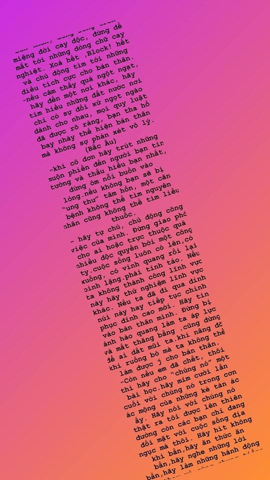 Hồ Ngọc Hà: Còn nếu em đã chết, thôi thì cho chúng một bài học - Hình 2