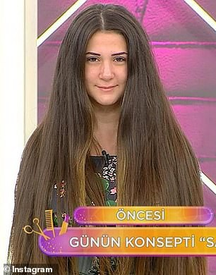 Nữ người mẫu sốc đến phát ngất ngay trên sóng truyền hình vì bị cắt phăng... 30 cm tóc - Hình 1