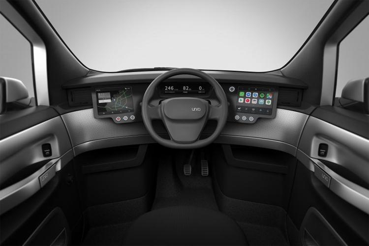 Uniti One - ôtô điện 3 chỗ giá 19.000 USD - Hình 2