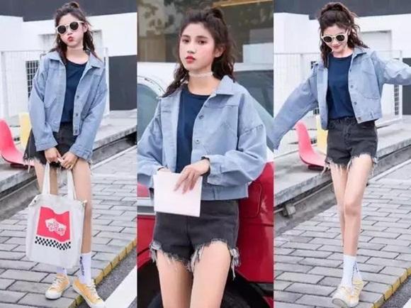 Áo denim jacket và quần culottes vẫn hot điên đảo, cứ mặc theo cách này là chị em đủ xinh đẹp suốt mùa thu - Hình 3