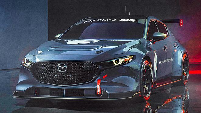 Biến thể xe đua của chiếc Mazda 3 TCR thế hệ mới - Hình 1