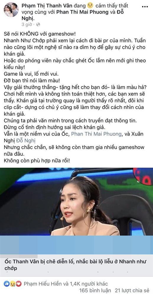 Đồng loạt nghệ sĩ Việt công khai tuyên bố tuyệt giao với gameshow - Hình 1