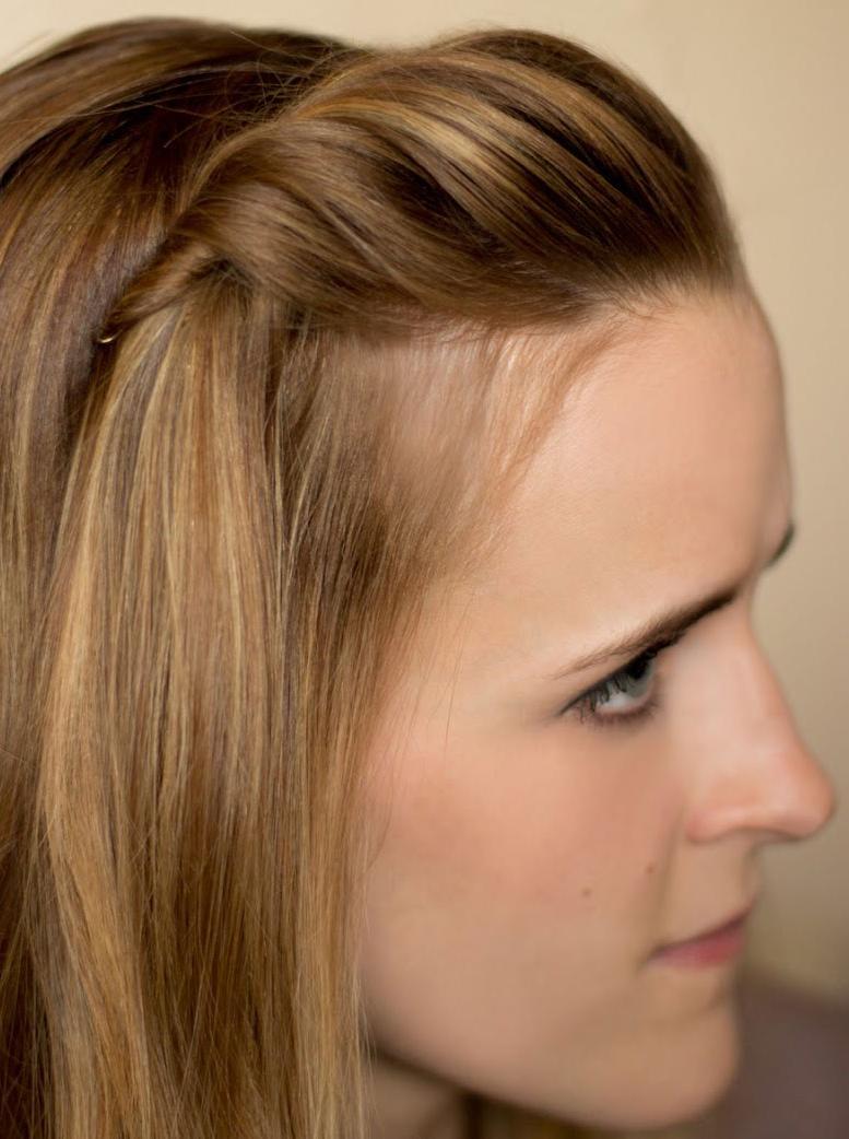 Một vài kiểu tóc đơn giản mà cực đẹp cho các phù dâu - Hình 4