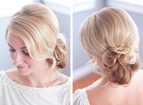 Một vài kiểu tóc đơn giản mà cực đẹp cho các phù dâu - Hình 2