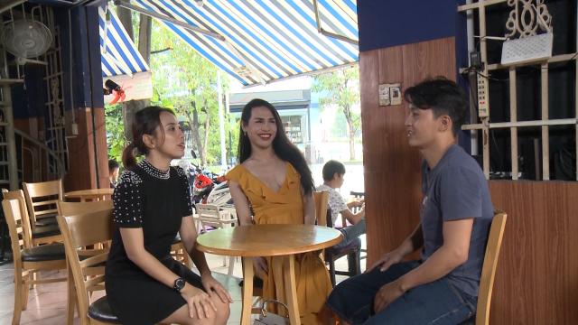 Miko Lan Trinh xe duyên cho cô gái chuyển giới tại Come Out phiên bản Sống Thật - Hình 2