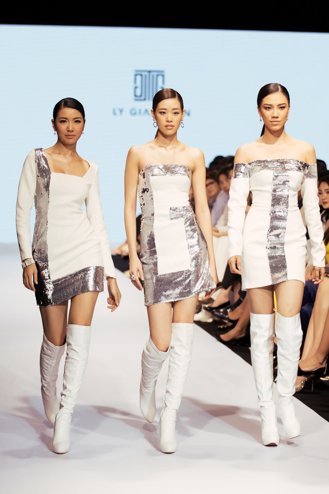 Bị chê catwalk tệ, Thúy Vân vẫn đắt show hơn Hương Ly tại Hoa hậu Hoàn vũ VN - Hình 3