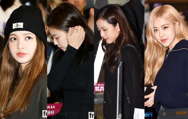 Black Pink đồng loạt mặc đồ tối màu để tưởng niệm Sulli dù trước đó đã định mặc đồ hài hước vì thua kèo với fan - Hình 1