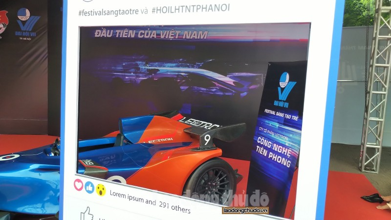 Cận cảnh siêu xe F1 made in Vietnam - Hình 2