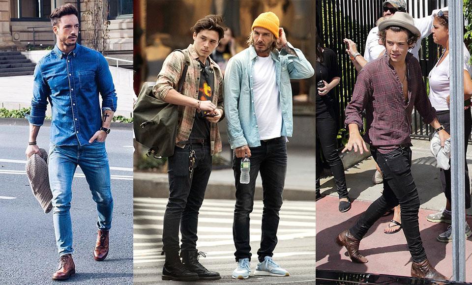 Mách chàng cách mặc quần jean siêu bó không sợ bị chê nữ tính - Hình 3