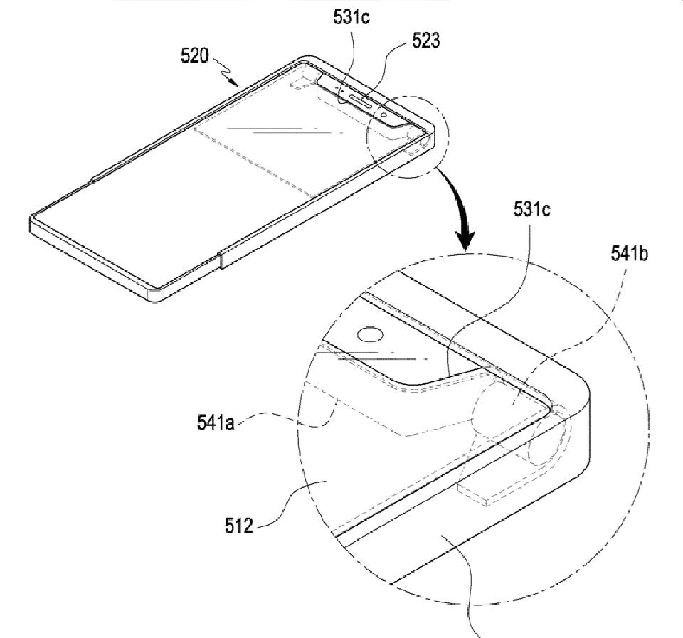 Samsung được cấp bằng sáng chế về smartphone có màn hình kéo dài linh hoạt - Hình 1
