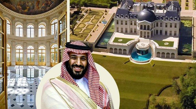 Cận cảnh siêu lâu đài dát vàng của Thái tử Ả-rập - Hình 1