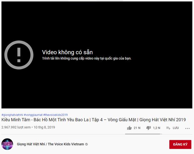 Kỳ lạ các clip Giọng hát Việt nhí 2019 bất ngờ bốc hơi khỏi kênh YouTube chính thức - Hình 3