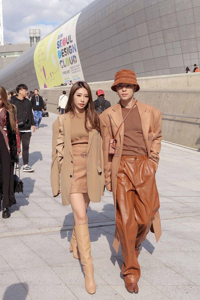 Loạt sao Việt gây ấn tượng khi tham dự Tuần lễ thời trang Seoul - Hình 2