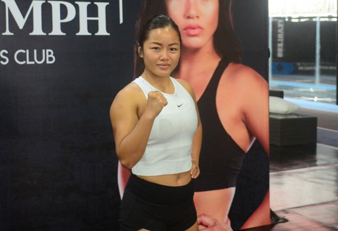 Nữ võ sĩ gốc Việt đại chiến nhà vô địch Thái Lan - Hình 1