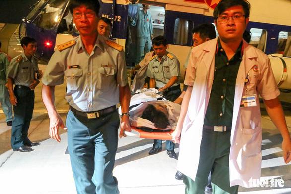 Trực thăng cấp cứu kịp thời ngư dân bị chấn thương sọ não tại Trường Sa - Hình 1