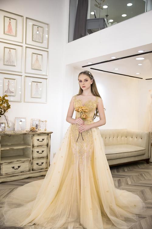 Váy cưới lấy cảm hứng thời trang Pháp - Hình 10