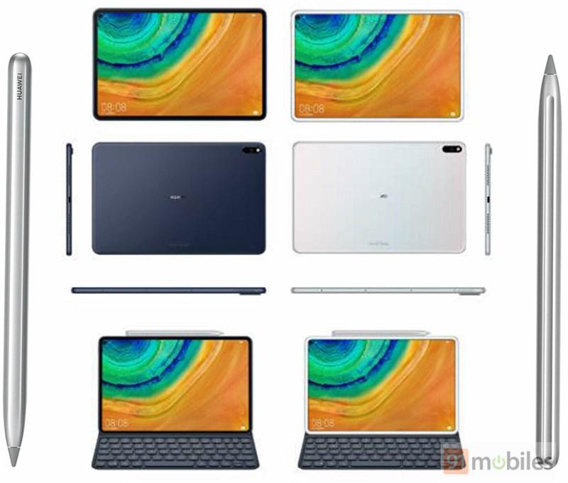 Huawei MediaPad M7 lộ ảnh render mọi góc cạnh, hỗ trợ bút stylus - Hình 1