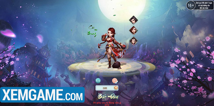 Thiên Hạ Ngũ Tuyệt H5 : Rảnh tay chơi, tha hồ phát triển nhân vật - Hình 1